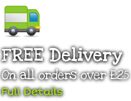 Free Nationwide Delivery on all Health Supplement Orders Over £25