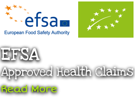 EFSA / European Food Approved Safety Authority / EFSA Approved Health Claims Logo