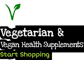 Vegetarian and Vegan health Supplements