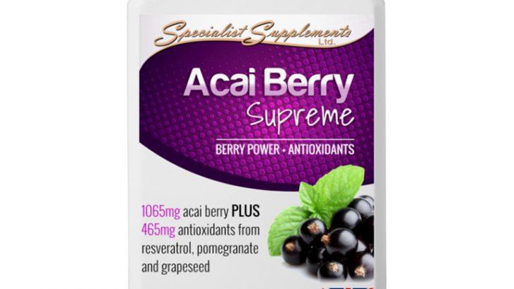 Acai Berry Supreme - Vegan Berry Power / Slimming Aid / Antioxidants Health Supplements
