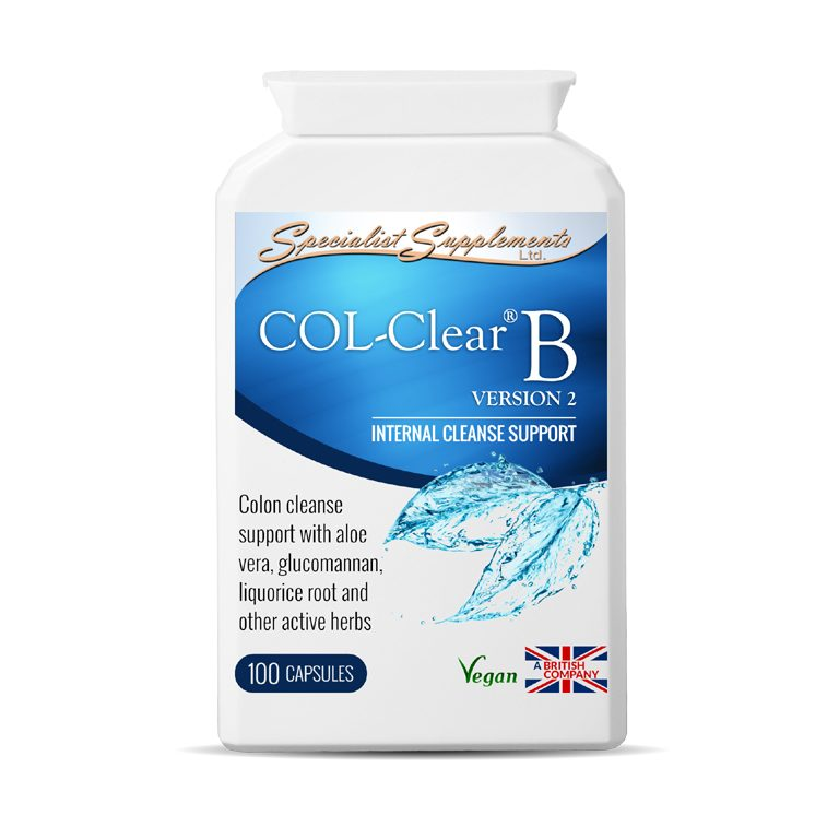 COL-Clear B v2: Colon Cleanse Support / Digestive Health and Detox / Health Supplements