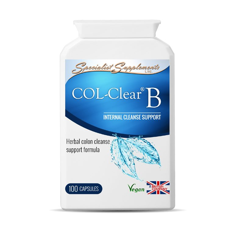 COL-Clear B v2: Herbal Colon Cleanse Support / Digestive Health and Detox / Health Supplements