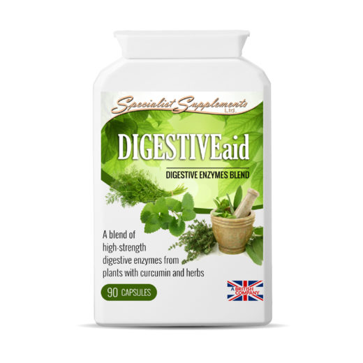 DIGESTIVEaid - Digestive enzmes Blend / Digestive Health / Health Supplements