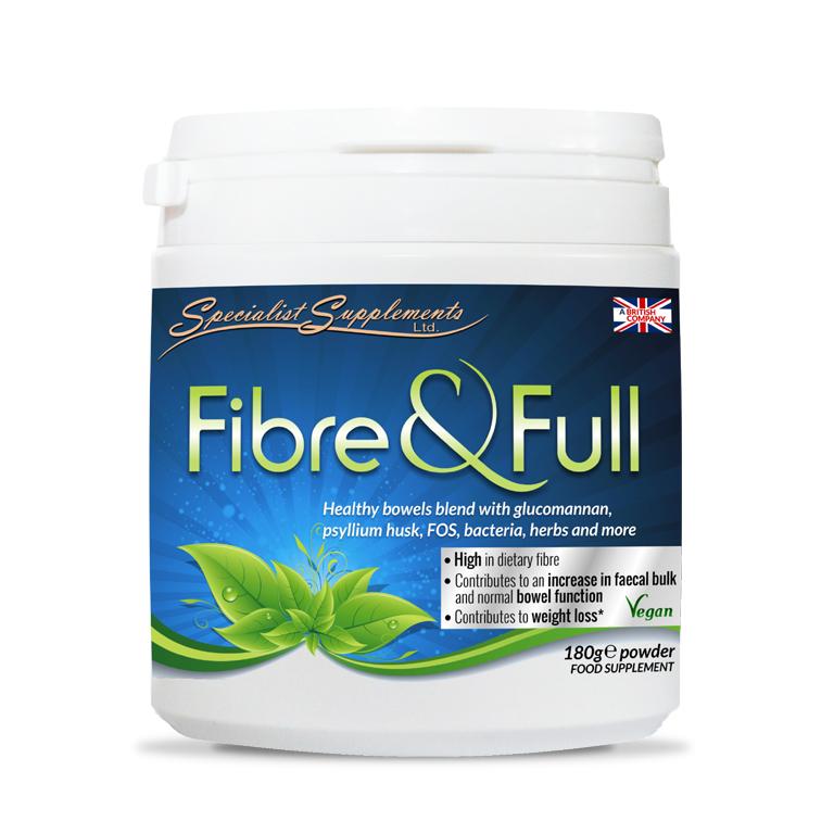 Fibre & Full - High in Deitary Fibre / Digestive Health / Health Supplement