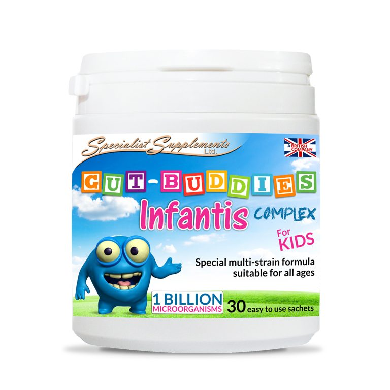 Gut Buddies Infantis Complex - Kid's Probiotic Digestive Health / Health Supplements