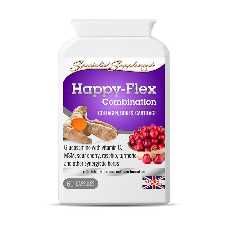 Happy Flex Combination - Joint Care / Collagen, Bones and Cartilage Support / Health Supplements
