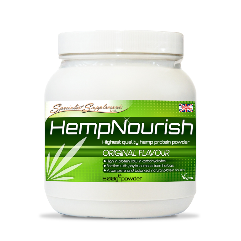 HempNourish - Protein Powder Original Flavour / Muscle, Sports and Fitness / Health Supplements