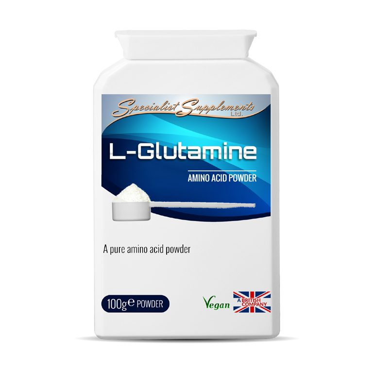 L-Glutamine - Pure Amino Acid Powder / Digestive Health / Health Supplements