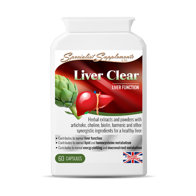 Liver Clear - supports Liver Function / Digestion, Cleanse and Detox / Health Supplement