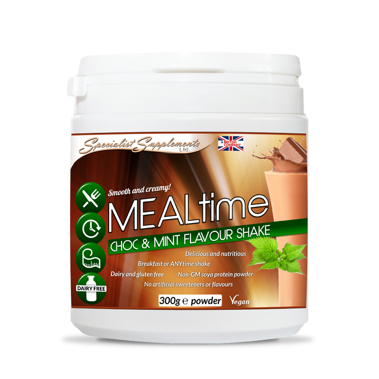 MEALtime chocolate and mint flavour Protein Powder - Muscle, Sports and Fitness / Health Supplement