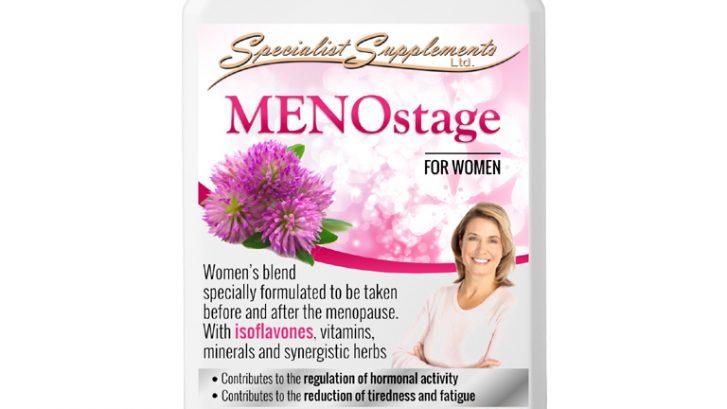 MENOstage - Support during Menopause / Women's Health Supplement