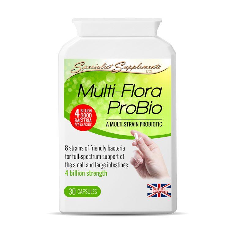 Multi-Flora ProBio - Probiotic Health Supplement - Immunity Support