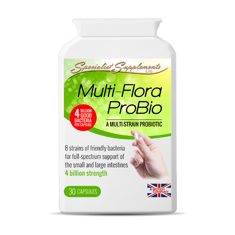 Multi-Flora ProBio - Probiotic Health Supplement - Immunity Support
