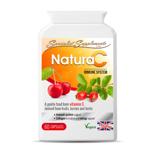 Natura C - Vitamin C Food Form Supplement with Immunity Support