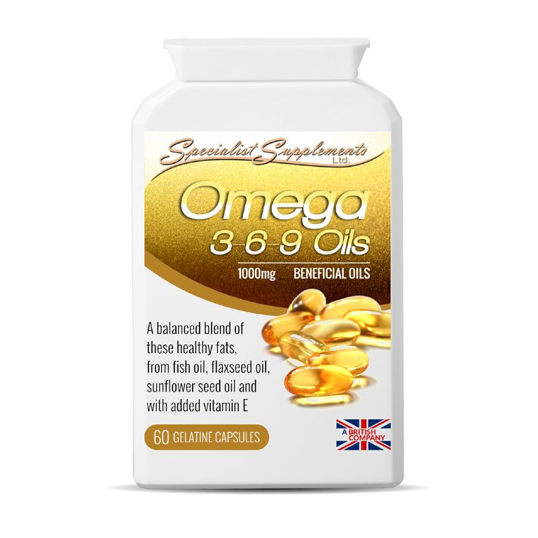 Omega 3 6 9 Oils - with added Vitamin E / Joint Care / Health Supplement