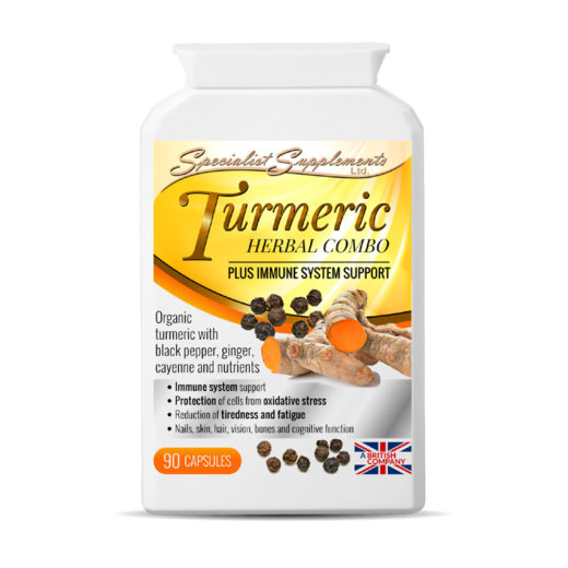 Turmeric Herbal Combo - Immunity Support - Health Supplement