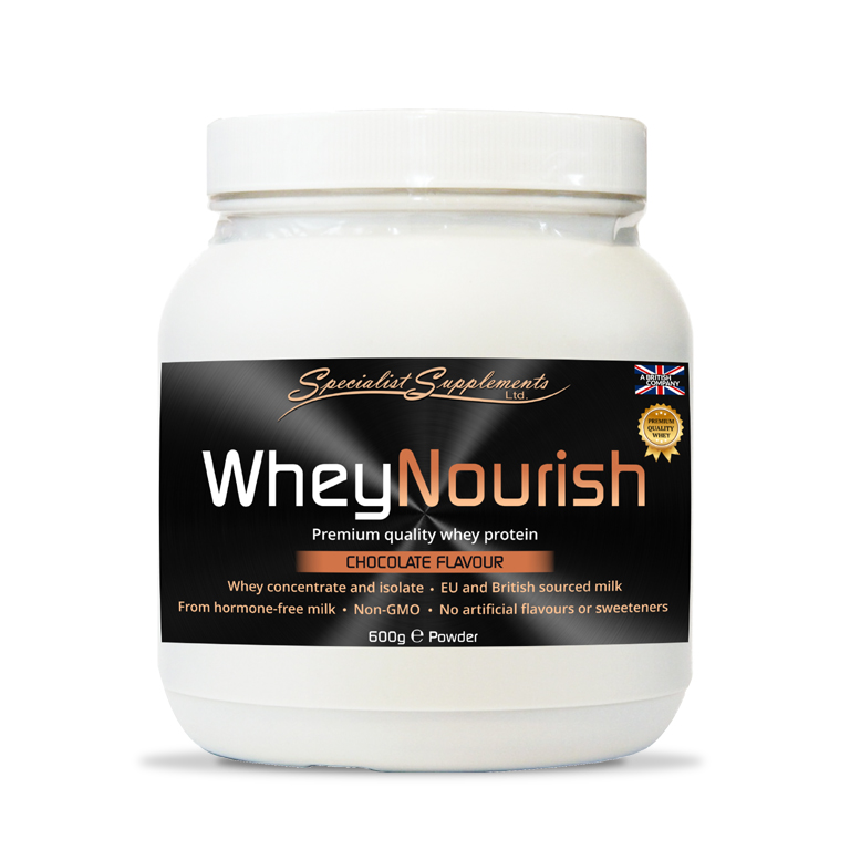 WheyNourish Chocolate Flavour - Protein Powder - Muscle Mass / Fitness / Sports