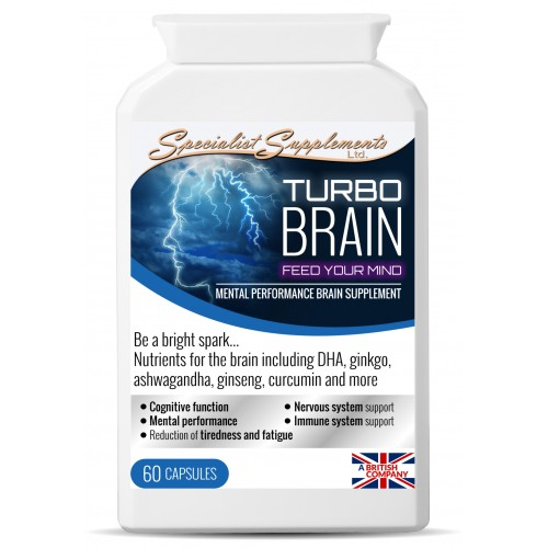 Turbo Power Cognitive Enhancement Supplement