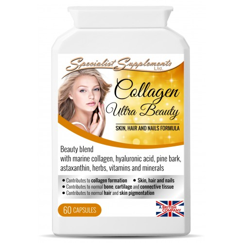 60 capsules: Marine collagen beauty formula