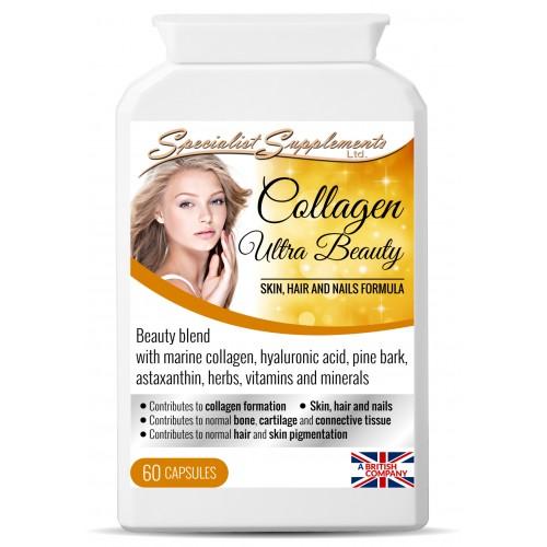 60 capsules: Marine collagen beauty formula